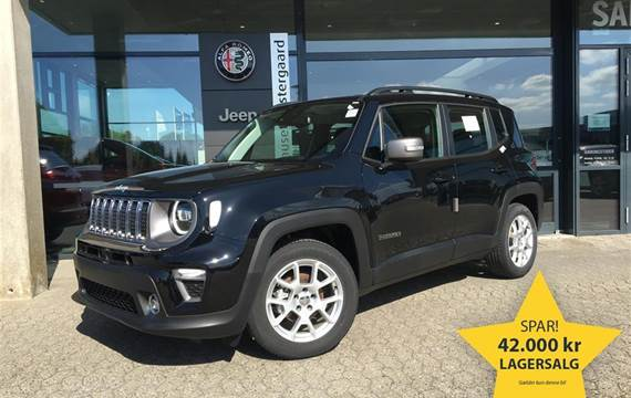 Jeep Renegade 1,0 Turbo Limited First Edition  5d 6g