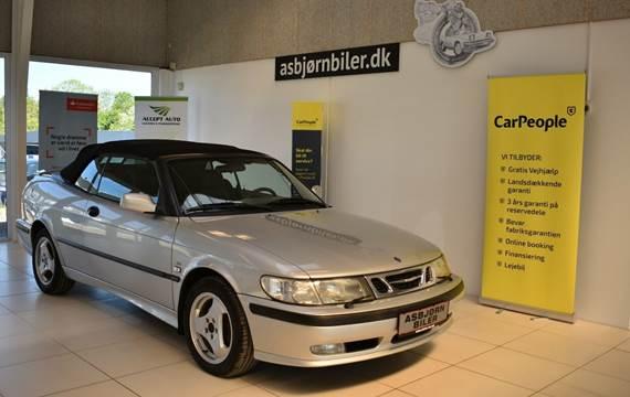 Saab 9-3 2,0 Turbo 200 SE Cabriolet