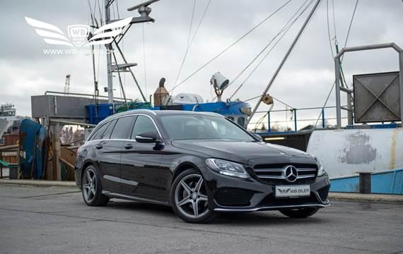 Mercedes C220 2,2 BlueTEC AMG Line stc. aut.