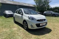 Nissan Micra 1,2 Tekna Glastag  5d