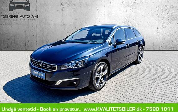 Peugeot 508 2,0 BlueHDi 180 GT SW EAT6