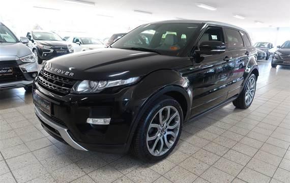 Land Rover Range Rover evoque 2,2 SD4 Prestige 4x4  5d 6g Aut.