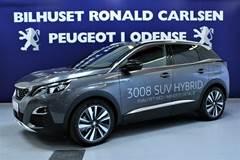Peugeot 3008 1,6 Hybrid GT Line EAT8