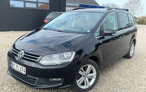 VW Sharan 2,0 TDi 170 Highline BMT