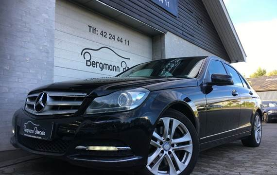 Mercedes C350 3,0 CDi Avantgarde aut. BE