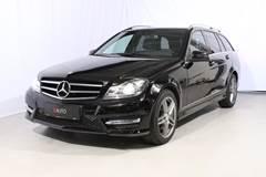 Mercedes C220 2,2 CDi Avantgarde stc. aut. 4-M