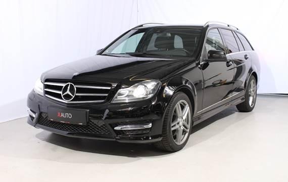 Mercedes C220 2,2 CDi Avantgarde stc. aut. 4Matic Van