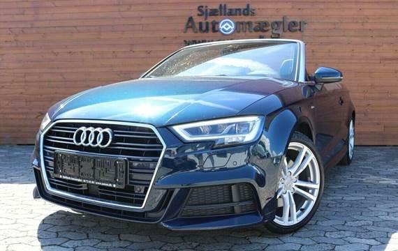 Audi A3 1,4 TFSi 150 S-line Cabrio S-tr