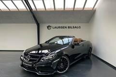Mercedes E220 2,2 BlueTEC AMG Line Cabriolet aut