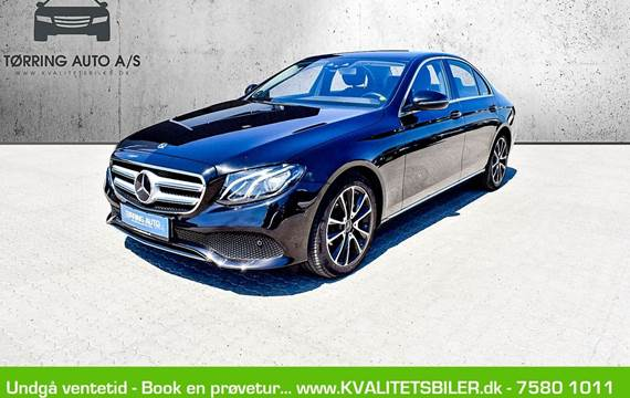 Mercedes E220 d 2,0 Business aut.