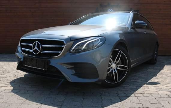 Mercedes E220 d 2,0 AMG Line stc. aut. 4-M