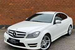 Mercedes C220 2,2 CDi AMG Line Coupé aut. BE
