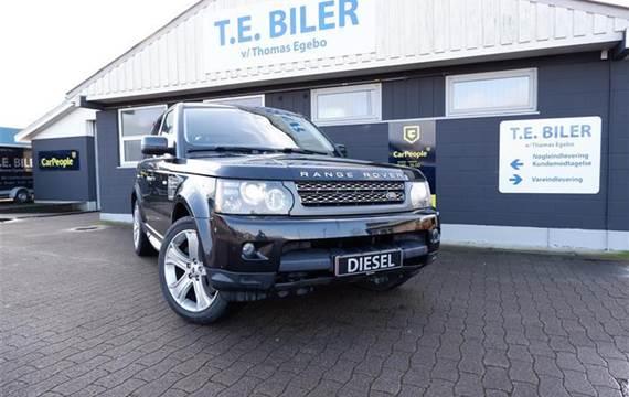 Land Rover Range Rover sport 3,6 Land Rover Range Rover Sport 3,6 TDV8 HSE Plus 4x4 272HK 5d 6g Aut.