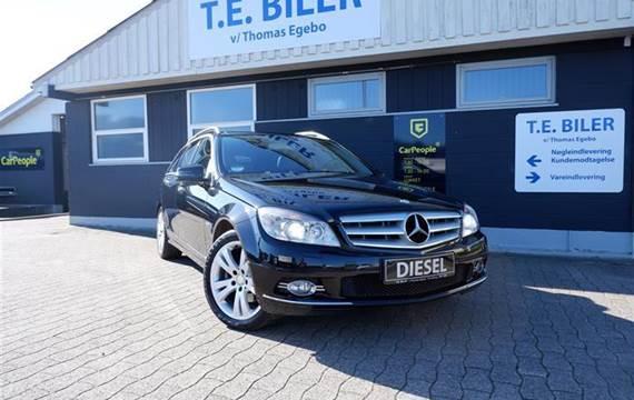 Mercedes C250 d 2,2 T 2,2 CDI BlueEfficiency 204HK Stc Aut.