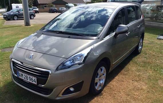 Peugeot 5008 1,6 HDI Motion+ 114HK 6g