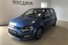 VW Polo 1,0 Bluemotion BlueMotion DSG 95HK 5d 7g Aut.
