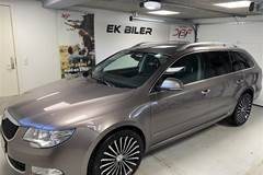 Skoda Superb Combi 2,0 TDI Common Rail DPF Ambition DSG 170HK Stc 6g Aut.