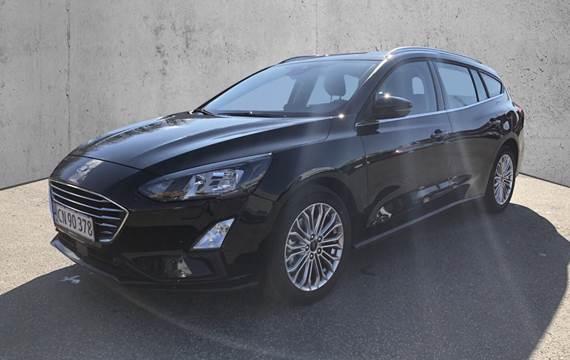 Ford Focus 1,0 EcoBoost Titanium 125HK Stc 6g