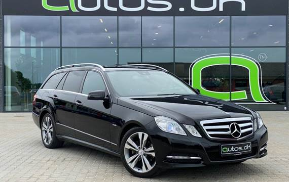 Mercedes E220 2,2 CDi Avantgarde stc. aut. BE