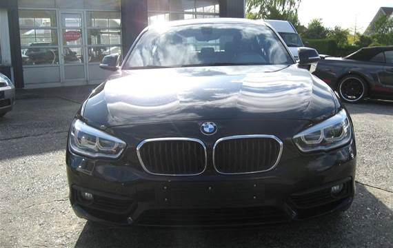 BMW 120d 2,0 D Connected Steptronic 190HK 5d 8g Aut.