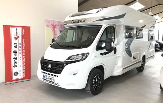 Fiat Ducato 2,3 Chausson Flash 635