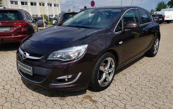 Opel Astra Turbo Sport Start/Stop 140HK 5d 6g