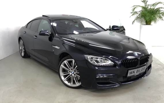 BMW 650i 4,4 Gran Coupé xDrive aut.