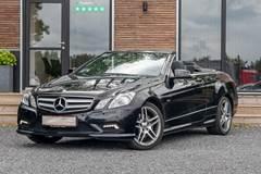 Mercedes E350 3,5 CGi AMG Line Cabriolet aut. BE