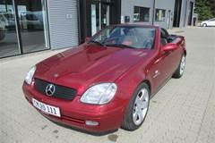 Mercedes SLK230 2,3 Kompressor 193HK Cabr. Aut.