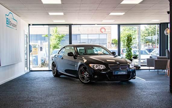 BMW 335i 3,0 Cabriolet aut.