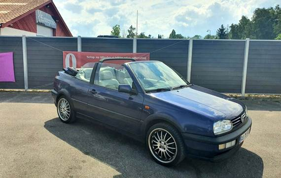 VW Golf III 2,0 Avantgarde Cabriolet
