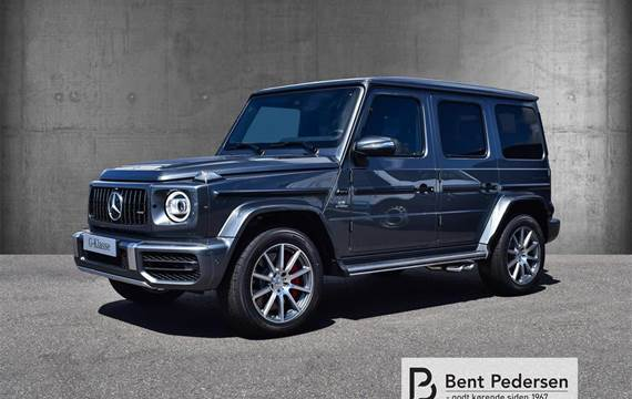 Mercedes G63 4,0 4-Matic AMG Speedshift  9g Aut.