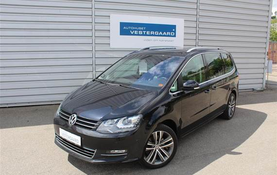 VW Sharan 2,0 TDI BMT Highline DSG  6g Aut.