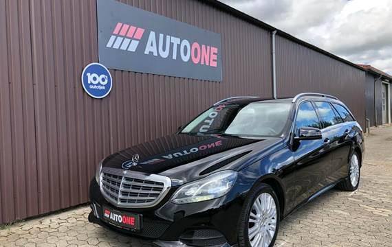 Mercedes E200 2,2 BlueTEC Avantgarde stc. aut.