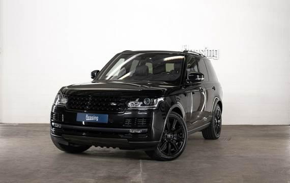 Land Rover Range Rover 5,0 SCV8 Autobiography Black aut