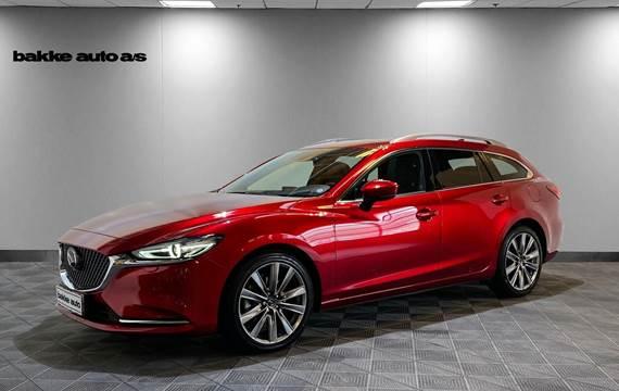 Mazda 6 2,2 Sky-D 184 Optimum stc. aut.