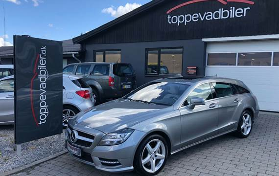 Mercedes CLS500 4,7 SB aut. BE