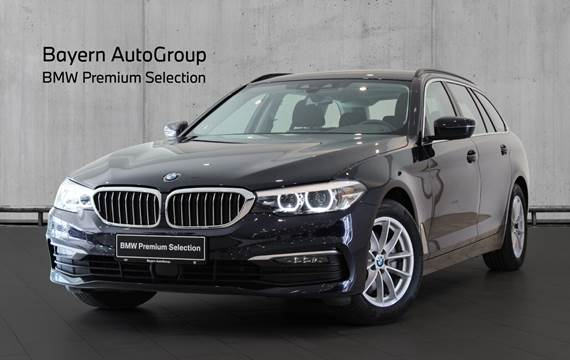 BMW 520i 2,0 Touring Connected aut.