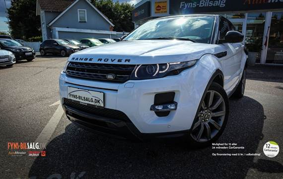 Land Rover Range Rover evoque 2,2 SD4 Pure Tech aut.