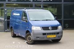 VW Transporter 1,9 TDi 102 Kassevogn kort
