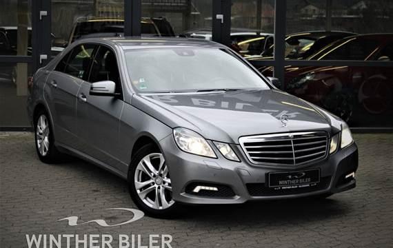 Mercedes E350 3,0 CDi aut. BE