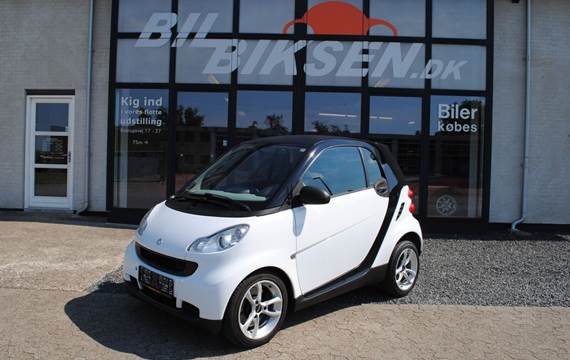 Smart ForTwo Coupé 1,0 Pure 61 MHD