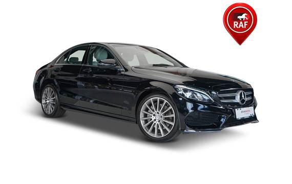 Mercedes C250 d 2,2 AMG Line aut. 4-M