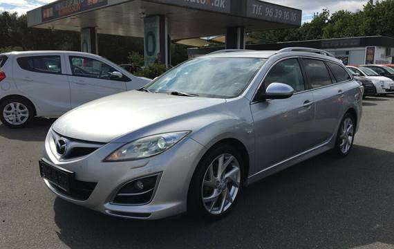 Mazda 6 2,2 DE 129 Advance stc.