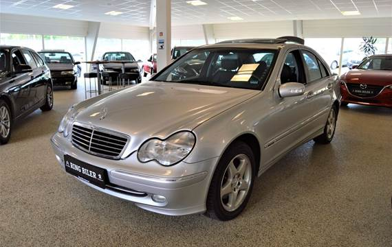Mercedes C240 2,6 Avantgarde aut.