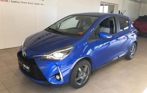 Toyota Yaris 1,5 VVT-I T3 Smartpakke  5d 6g