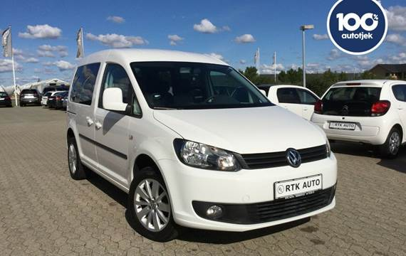 VW Caddy 1,2 TSi 85 Trendline 7prs
