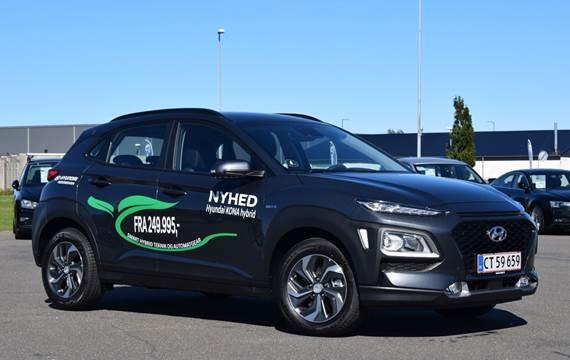 Hyundai Kona 1,6 HEV Advanced DCT