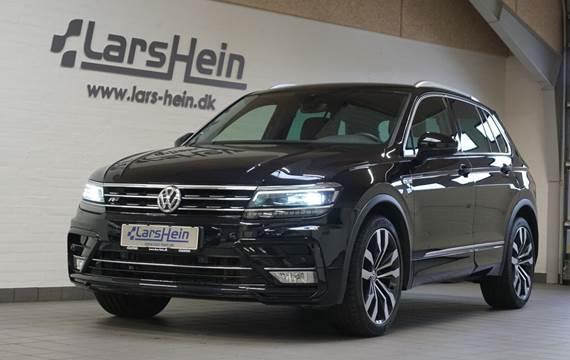 VW Tiguan 2,0 TDi 190 R-line DSG 4M Van