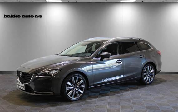 Mazda 6 2,2 Sky-D 150 Optimum stc. aut.